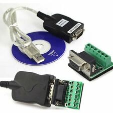 USB 2.0 To Interface RS-485 DB9 80mm Serial Converter Adapter Cord Cable