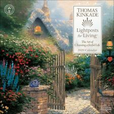 Thomas Kinkade: Lightposts for Living Kalender 2020 quadratisch 30 x 30 cm