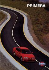 Nissan Primera Prospekt 7/95 1995 Autoprospekt Broschüre prospectus brochure Pkw