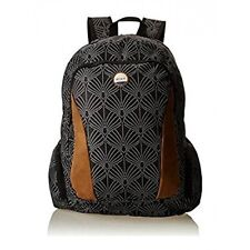 Roxy Alright Soul Breeze True Negro KVJ6 Mochila 18L Funda Notebook Nuevo