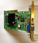 CARTE GRAPHIQUE PC - AGP GRAPHIC CARD NVIDIA VANTA / TNT2 M64 -TESTEE 100 % OK