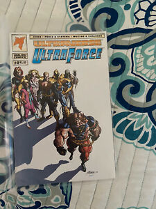 Ultraverse: Ultra Force Issue #2, 4 (October 1994, Malibu Comics)