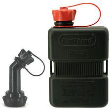 FuelFriend® PLUS 1.0 lt. - special series BLACK - Tanica Jerrycan Jerrican Bidon