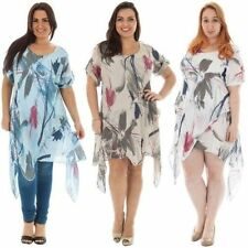 Linen Tunic Machine Washable Dresses for Women
