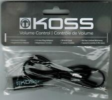 Koss Black Headphone or Earbud Volume Control Accessory Add On Ships from USA