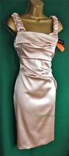 Karen Millen Women's No Pattern Knee Length Stretch, Bodycon Dresses