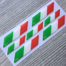 Italy Italian flag 3d domed emblem decal sticker car Lamborghini Ferrari Fiat