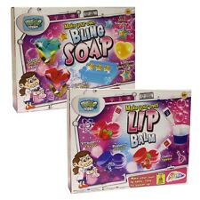 TWIN PACK - MAKE MIX YOUR OWN BLING SOAP & LIP BALM ACTIVITY TOY COSMETICS SET