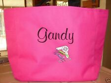TOTE Bag PERSONALIZE STYLIST HAIRDRESSER HAIR BEAUTY SALON GIFT EMBROIDERED