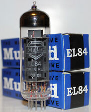 Matched Pair Mullard EL84 / 6BQ5 Reissue tubes, NEW !
