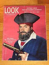 LOOK Magazine October 31, 1944 BOB HOPE Cover; Bing Crosby