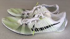 Nike Zoom Victory 2 Track Running Spikes White/Volt 555365-170 US 15-New
