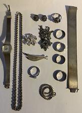 silberschmuck konvolut  Echt Silber 835 Er 925 Silber