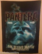 PANTERA FAR BEYOND DRIVEN ANNIVERSARY CFH 1994-2014 Cloth Fabric Poster Flag-New
