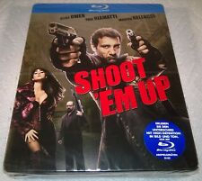 Shoot 'Em Up (2009, Germany) 1st Print MM Exclusive Steelbook NEW