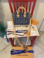 Louis Vuitton Speedy 25  Bandouliere Bag Limited Edition Since1854 Monogram Blue