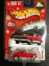Hot Wheels Holiday Rods 2004 1967 Camaro Red With Rubber Tires