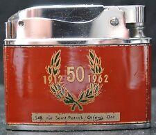 VINTAGE 50 YEARS ANNIVERSARY LA CAISSE POPULAIRE DE SAINTE ANNE OTTAWA LIGHTER