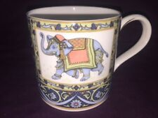 "Wedgwood England ""Blue Elephant"" Coffee Tea Mug.-B262"