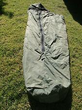 USGI USMC & US Army Green Patrol Sleeping Bag- with black inside (REPAIRED)