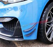 BMW M4 M3 Carbon Fibre Front Canards F80 F82 F83 - 100% carbon fibre - Set Of 4