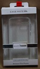 LOT OF 20 CASES -MATE NAKED TOUGH Rear Case Cover for Amazon Fire Phone - Clear
