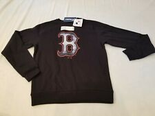 "Boston Red Sox NWT Core Smoke Medium Mens Crew Neck Pullover Sweater 26"" Length"