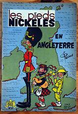 Les Pieds Nickelés en Angleterre (n°27) couverture papier mat 1964