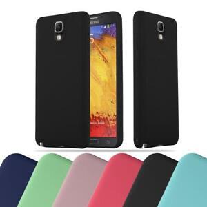 Schutz Hülle für Samsung Galaxy NOTE 3 Handy Cover Case TPU Candy Bumper