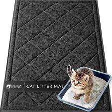 "Sierra Concepts Large Cat Litter Mat 36""X24"" - Kitty Box Pet Food Bowl Feeding"