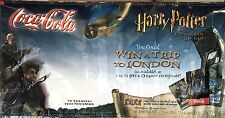 "Harry Potter And The Chamber Of Secrets Coke Coca Cola Poster London 70"" X 35"""
