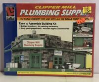 Vintage Life-Like HO SCALE Clipper Mill Plumbing Supply New Old Stock