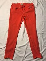 Lucky Brand Women's Pink Charlie Super Skinny Jeans Size 4