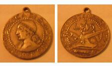 Medaglia Moneta 5 Lire Repubblica SAN MARINO 1938 Fortis Intemperantia FASCIO