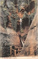 ISLE OF WIGHT UK IN SHANKLIN CHINE~JWS 727 POSTCARD