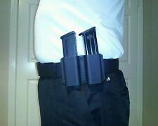 2 Magazine pouch fits CZ, 75B,  CZ 85B  &  SP-01 , 9 mm & 40 mags., Kydex