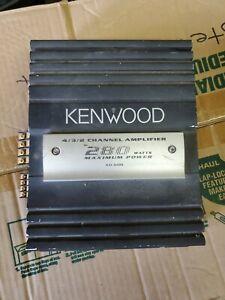 Kenwood KAC-6485 Old School 4 / 3 / 2 Channel Car Audio Amplifier (b3)