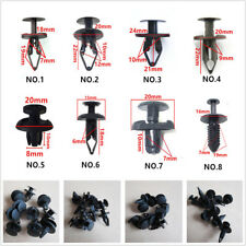 100 Pcs Car Auto Panel Body Interior Mixed ABS Fastener Clips Pushpin Rivet Trim