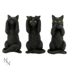 Drei Wise Katzen - Figur - Katze Verzierungen