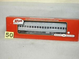 ATLAS HO SCALE #20001693 UNDECORATED SINGLE WINDOW HEAVYWEIGHT PASSENGER CAR NEW