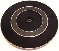 Garrard Synchro LAB SL-55 Turntable Part (Platter & Rubber Mat) Great Condition!