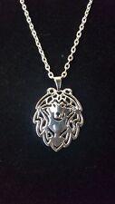 "Shetland Sheepdog Sheltie Cute Necklace, Pendant, Chain 18"""