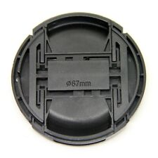 67mm Center Pinch Snap on Front Lens Cap Cover with String for Canon Nikon Sony