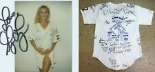 Adult Star Ginger Lynn Allen Game Used/Worn Jersey Autographed Signed 26+ w/COA