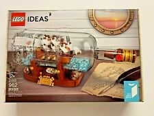 NEW EXCLUSIVE Lego IDEAS - Ship in Bottle 21313