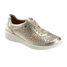 Earth Viva - Women's Athleisure Casual Shoe Washed Gold - 7 Medium