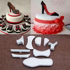 9Pcs High-Heeled Shoes Fondant Cake Mold Cutter Sugarcraft Mold Decorating Tools