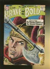 Brave and the Bold 21 GD+ 2.5 *1 Book* Silent Knight,.Jon The Viking Prince,1959