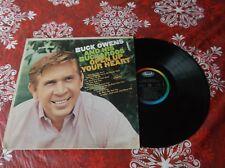 Buck Owens Open up your  heart LP Album Canada pressing