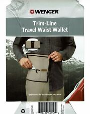 WENGER Trim-Line Travel Waist Wallet - Passport Holder - NIP- FREE SHIPPING